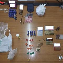 Controlli dei Carabinieri: due arresti. Trovate armi, droga e munizioni