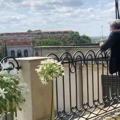 Emiliano e Abbaticchio sui giardini pensili di Bitonto