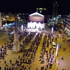 fedeli in piazza