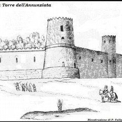 La ricostruzione grafica della torre