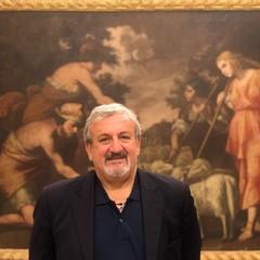 Michele Emiliano nel museo diocesano