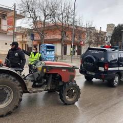 Protezione Civile e Polizia Municipale in azione a Mariotto