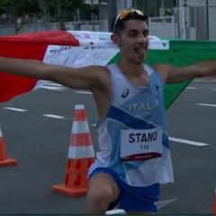 Olimpiadi, fantastica medaglia d'oro per Massimo Stano nella 20 km di marcia