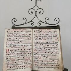 Un manoscritto esposto