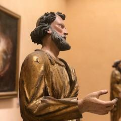 una sacra immagine custodita nel museo diocesano di Bitonto