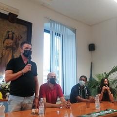 Bitonto, presentazione di mister Marcio Santos