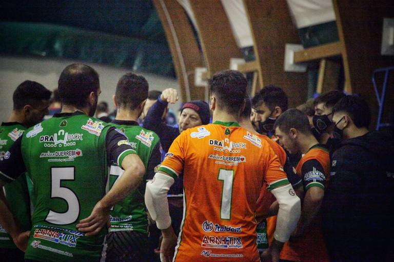 Un timeout del Futsal Bitonto