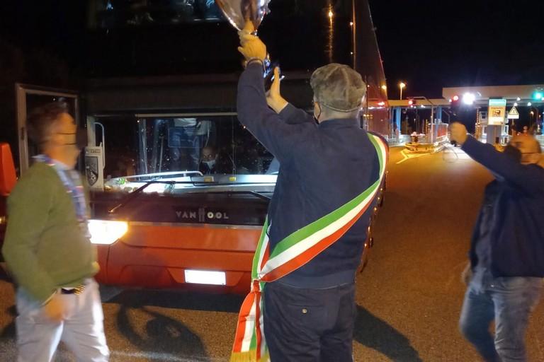 Michele Abbaticchio alza la Coppa Italia