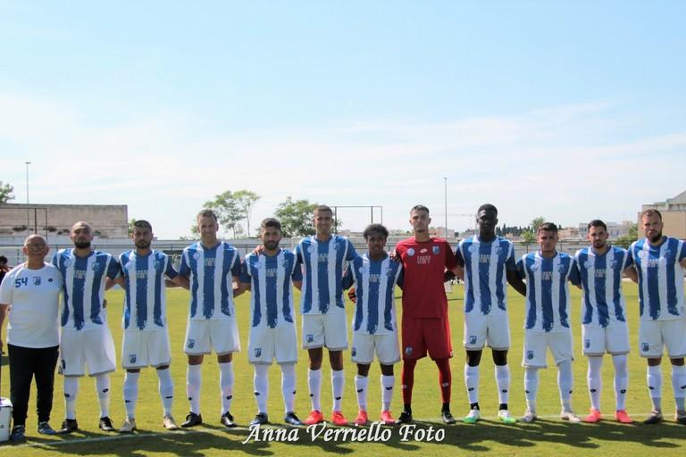 I calciatori del Fasano. <span>Foto Anna Verriello</span>
