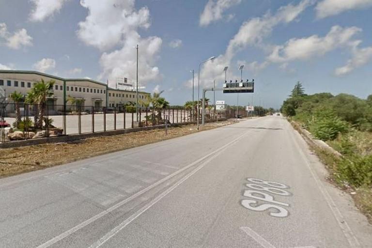 La strada provinciale 88 per Giovinazzo