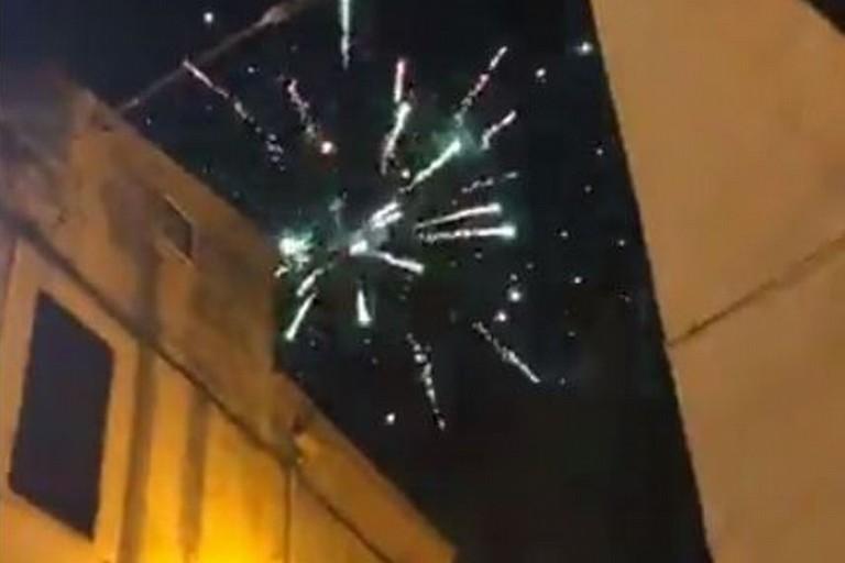 I fuochi d'artificio a Bitonto