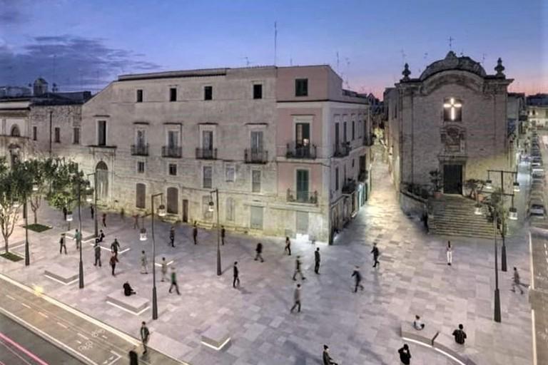 Piazza XX Settembre - render. <span>Foto Comune di Bitonto </span>