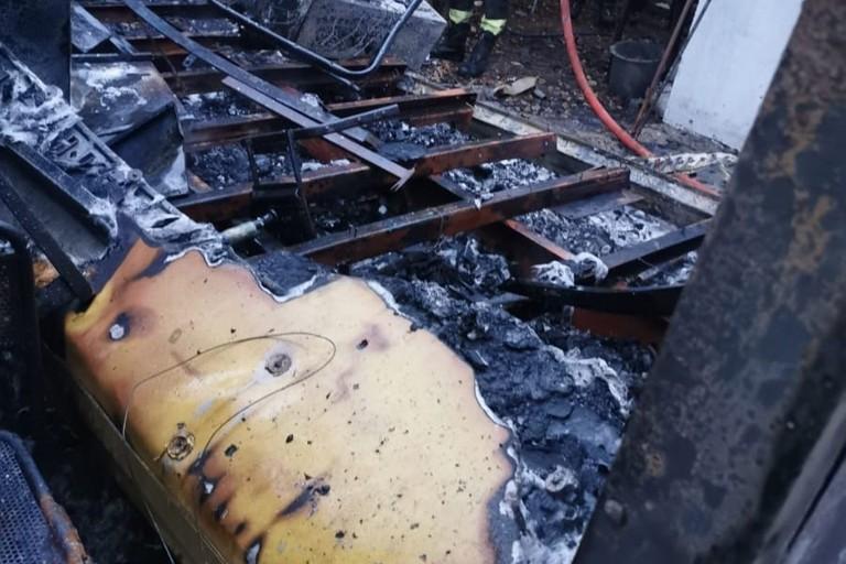 Incendio nella sede del Consorzio Terre d'Apulia