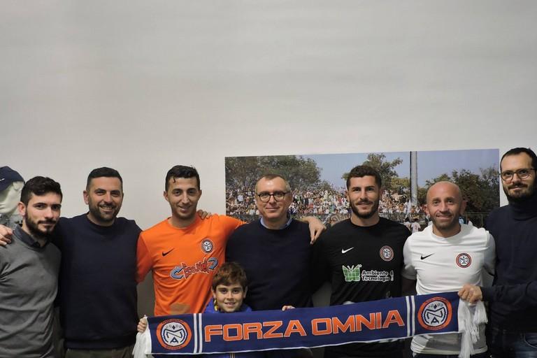 L'Omnia Bitonto con i nuovi acquisti Zotti, Picci, Fiorentino e Morea