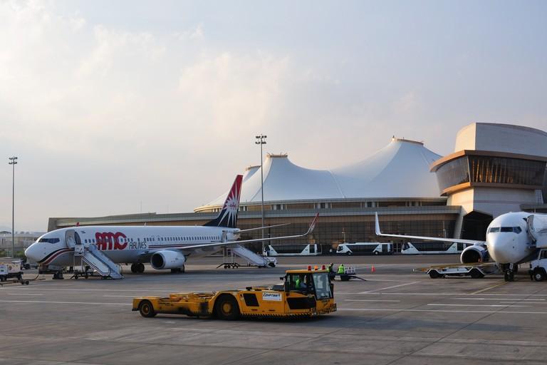 L'aeroporto di Sharm el Sheik