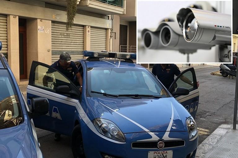 Centrale dello spaccio videosorvegliata scoperta a Bitonto