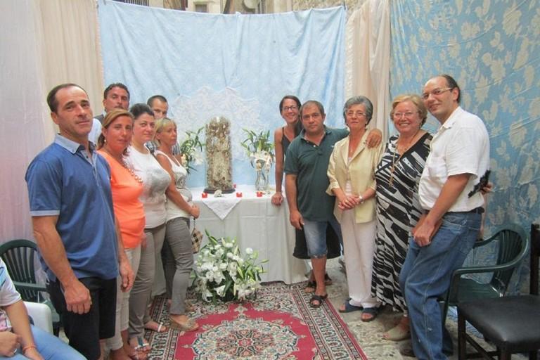 Altare Mariano nel centro storico di Bitonto JPG