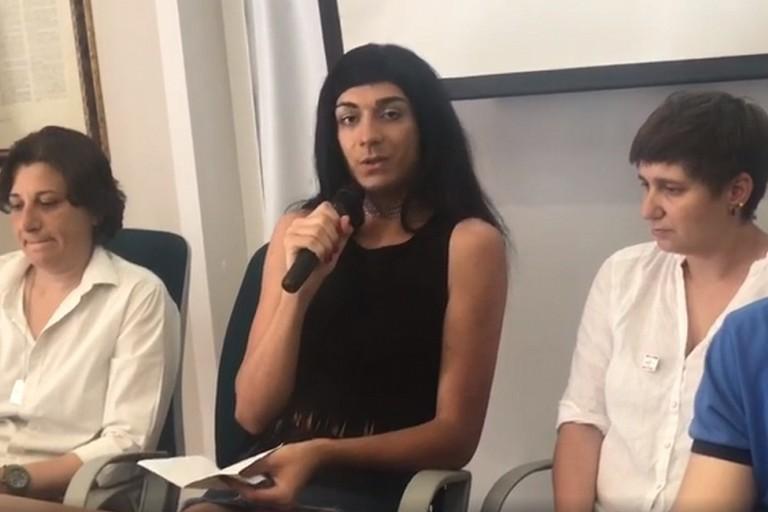 Anita Giordano madrina del protocollo sul lavoro tra CGIL e Arcigay