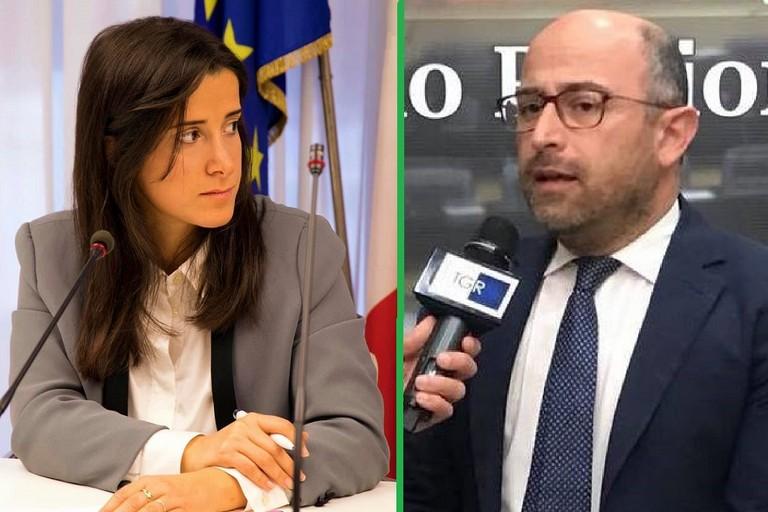 Antonella Laricchia e Domenico Damascelli