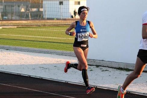 Francesca Labianca in gara