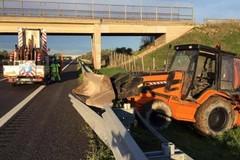 Tentato assalto a portavalori tra Bitonto e Molfetta, chiusa l'A14