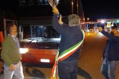 Il sindaco Abbaticchio ha accolto le trionfanti ragazze della Polisportiva