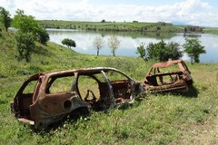 Cerignola: la diga era un cimitero di auto rubate anche a Bitonto