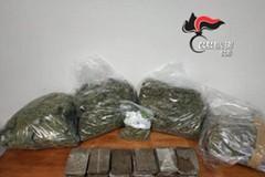 Sette chili di droga in casa a Bitonto: arrestato un 60enne