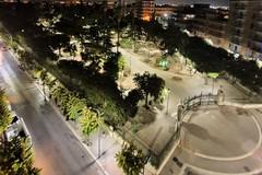 Nuova illuminazione lungo il perimetro della Villa Comunale di Bitonto