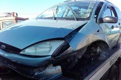 Incidente stradale sulla Mariotto-Terlizzi: auto fuori strada, un ferito