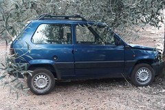 Quattro auto rubate ritrovate nelle campagne di Bitonto