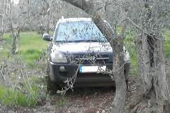 Ritrovate nelle campagne due auto rubate a Bitonto