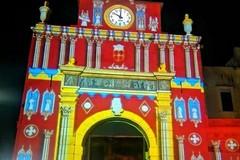 Il video mapping su Porta Baresana sarà ammirabile sino al 2 giugno