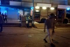 Ancora in fiamme il bar incendiato a Bitonto poco prima dell'inaugurazione