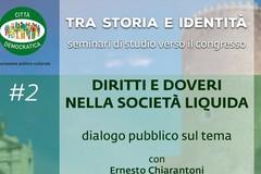 Città Democratica verso il congresso: sabato discuterà di «Diritti e doveri nella società liquida»