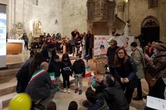 Gioia e commozione ieri a Bitonto per la consegna della cittadinanza simbolica ai minori stranieri nati in Italia