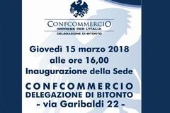 Domani si inaugura a Bitonto la nuova sede di Confcommercio