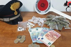 Bitonto, il market della droga che non chiude mai