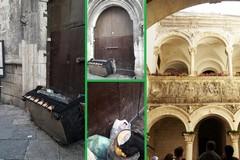 Monumento storico trasformato in discarica a Bitonto