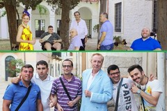 Gianni Ciardo e Michele Mirabella a Bitonto per il calendario che aiuta i diversabili