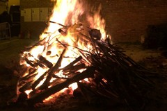 Il Covid ferma i falò di S. Lucia a Bitonto: «Accendete un lume nelle vostre case»