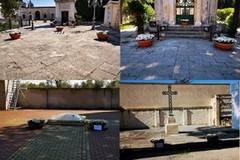 Fiori nei cimiteri di Bitonto per il 25 aprile