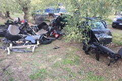 Ancora auto rubate a Bitonto ritrovate ad Andria