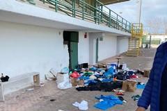 Ignoti devastano gli spogliatoi del Bitonto allo stadio