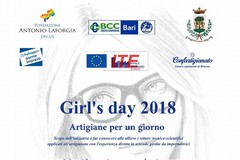 Girl's day 2018: domani a Bitonto le opportunità 'rosa' nei settori tecnico-scientifici dell'artigianato
