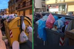 Bidoni pieni di rifiuti a Bitonto: il sindaco minaccia l'esposto e parte il ritiro
