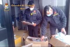 Mascherine taroccate vendute a Bitonto col 500% di ricarico