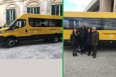 Consegnato il nuovo scuolabus del comune di Bitonto