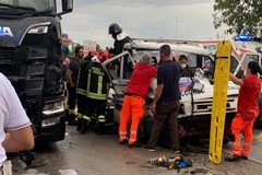Schianto sulla sp231: tre veicoli coinvolti e 5 feriti