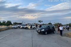 Incidente sulla Bitonto-Giovinazzo: quattro auto coinvolte, due feriti
